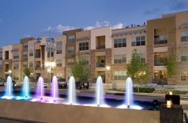 Mutifamily Urban community exterior