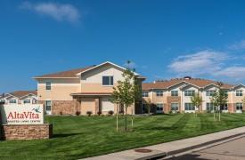 Alta Vita Assisted Living Exterior Entrance