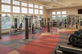 multifamily apartment community gym