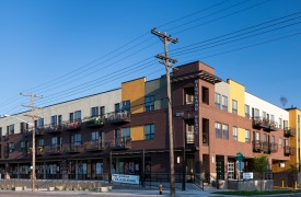 Mixed-Use Infill apartment community exterior