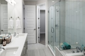 Infill Townhome Bathroom