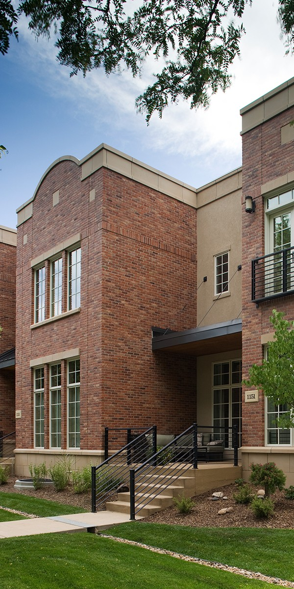 Brick Infill Townhome Community