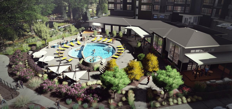 Multifamily Community Apartment Pool