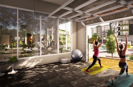 Fitness Room with Yoga