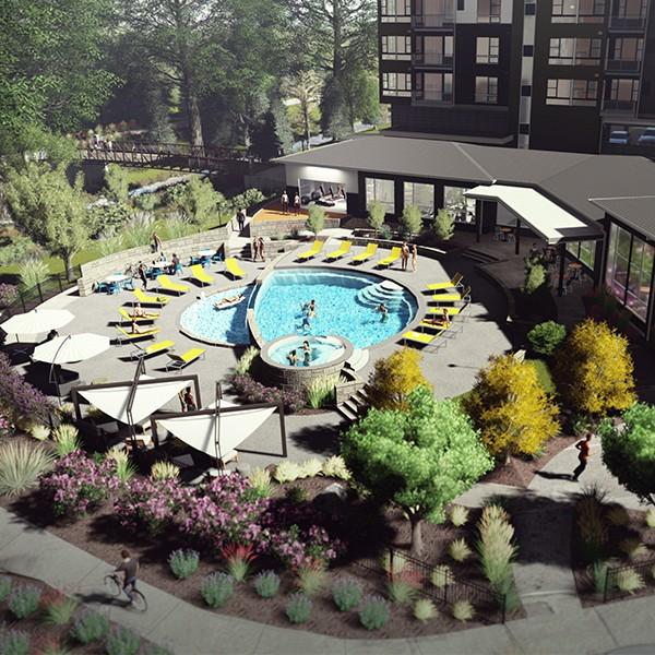 Multifamily Apartment Pool Deck