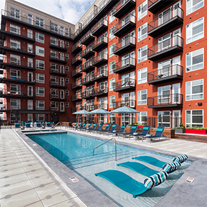 Multifamily Modular Construction Pool Deck