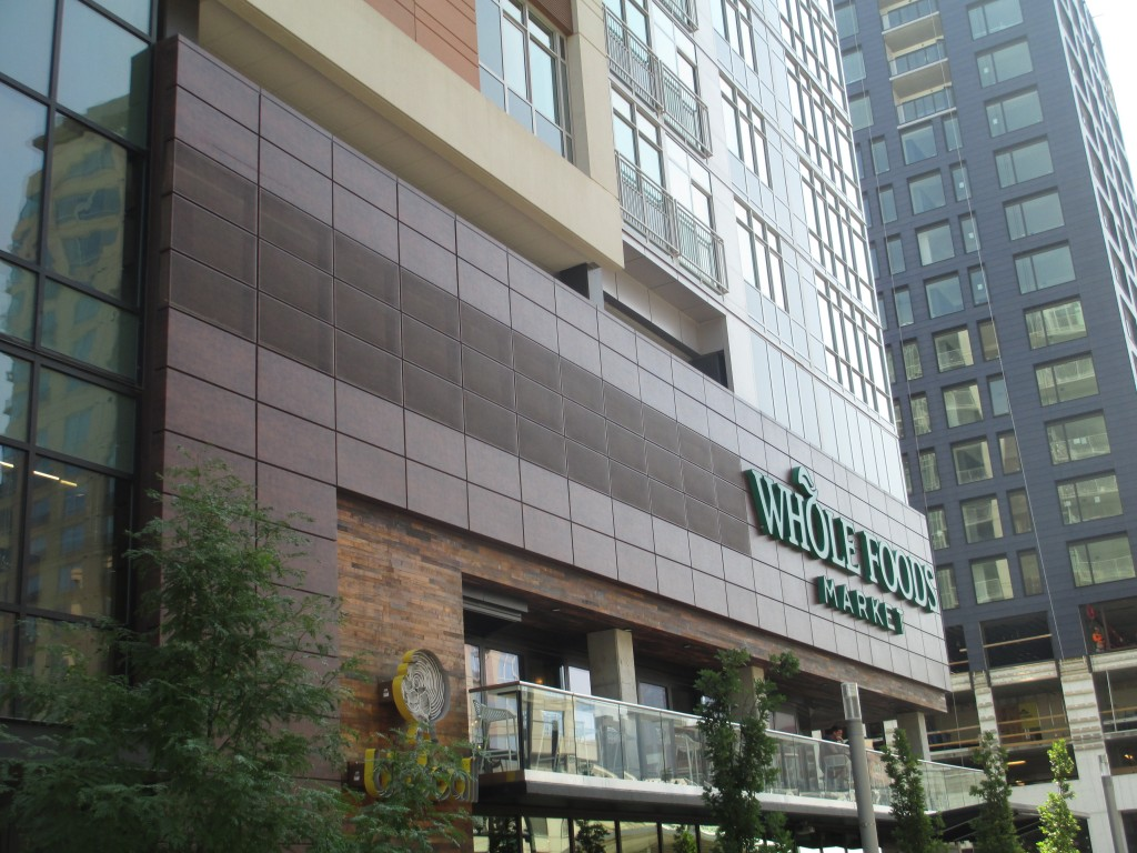 Whole Foods portion of Mixed-Use Multifamily Building