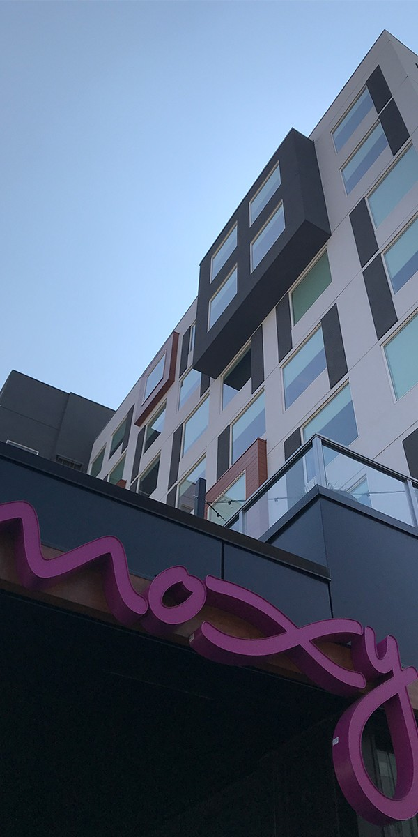 Moxy Hotel in Denver, Colorado